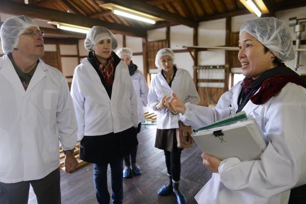 A www.saketours.com trip to Okayama breweries