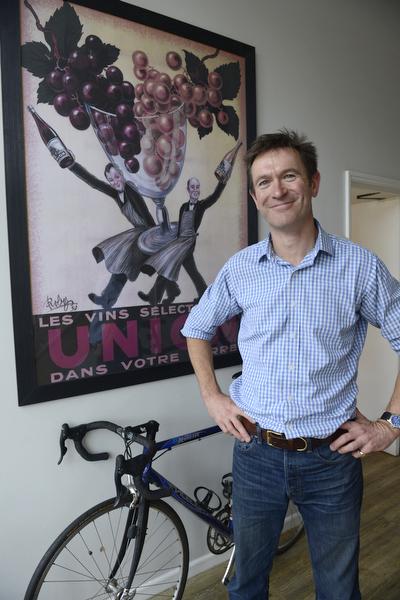 Neil Tully, wine label designer
